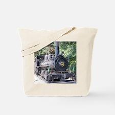 Funny Train engine Tote Bag