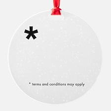 Asterisk (dark on light) Ornament