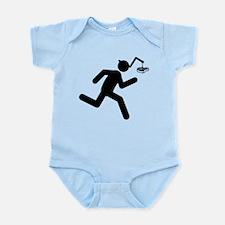 Steak Infant Bodysuit