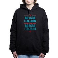 My Bracco Italiano Women's Hooded Sweatshirt