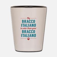 My Bracco Italiano Shot Glass