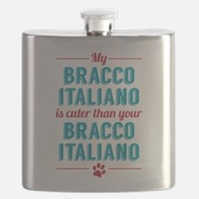 My Bracco Italiano Flask