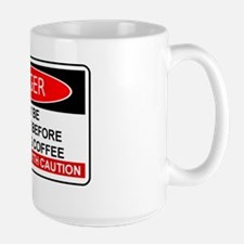 COFFEE - MAY BE HOSTILE  BEFORE MORNING Mug