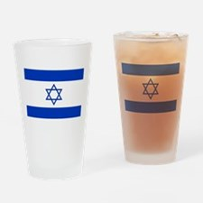 Flag Of Israel Drinking Glass