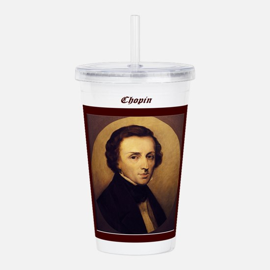 Chopin Framed Acrylic Double-wall Tumbler
