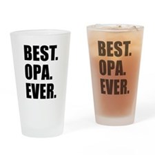 Best Ever Opa Drinkware Drinking Glass