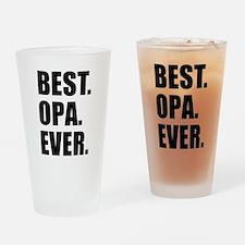Best Ever Opa Drinkware Drinking Glass