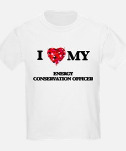 I love my Energy Conservation Officer hear T-Shirt
