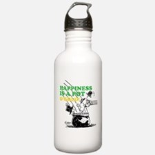 Happiness is a Pot o' Gold Water Bottle