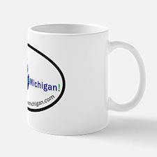 Mountain Bike Michigan Oval Logo Mug