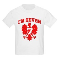 Polish Seven Year Old T-Shirt