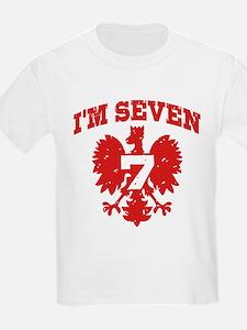 Polish Seven Year Old T-Shirt