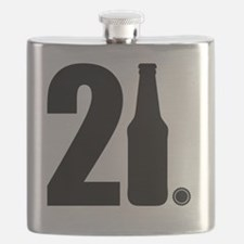 21 beer bottle Flask
