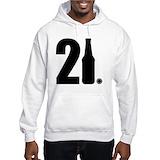 21st birthday Hooded Sweatshirt