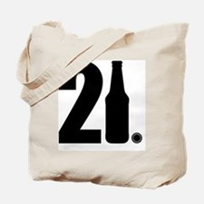 21 beer bottle Tote Bag