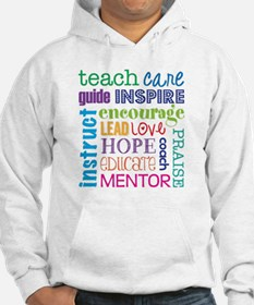Teacher subway art Hoodie