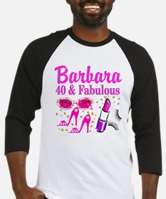 40TH PARTY GIRL Baseball Jersey
