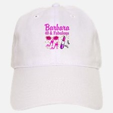40TH PARTY GIRL Baseball Baseball Cap
