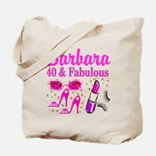 40TH PARTY GIRL Tote Bag