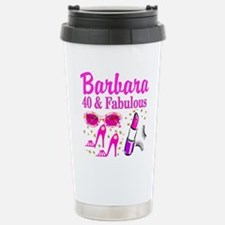40TH PARTY GIRL Stainless Steel Travel Mug