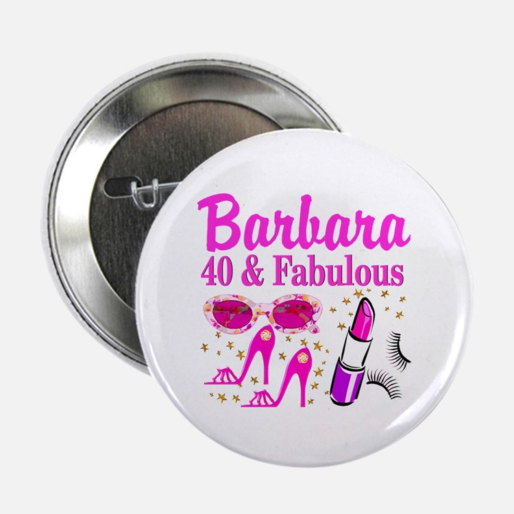"""40TH PARTY GIRL 2.25"""" Button (10 pack)"""