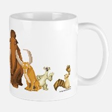 Ice Age 8-Bit Group Mug