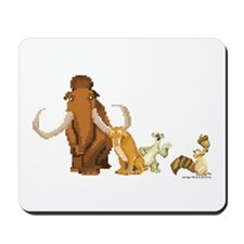 Ice Age 8-Bit Group Mousepad