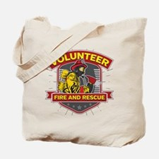 Fire and Rescue Volunteer Tote Bag
