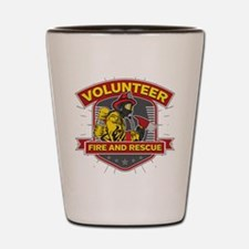 Fire and Rescue Volunteer Shot Glass
