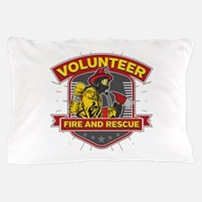 Fire and Rescue Volunteer Pillow Case