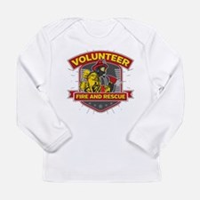 Fire and Rescue Volunte Long Sleeve Infant T-Shirt