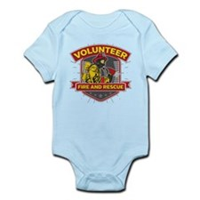 Fire and Rescue Volunteer Infant Bodysuit