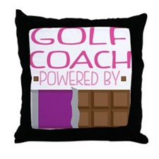 Golf Coach Throw Pillow