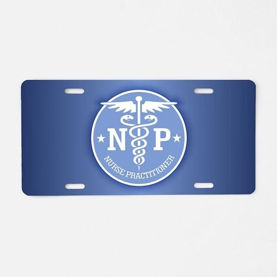 Cute Nurse symbol Aluminum License Plate