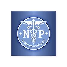 """Cute Medical symbol Square Sticker 3"""" x 3"""""""