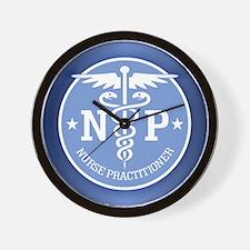 Funny Nurse practitioner Wall Clock