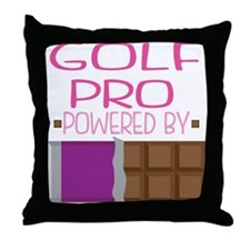 Golf Pro Throw Pillow