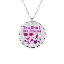 40TH PARTY GIRL Necklace