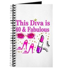 40TH PARTY GIRL Journal
