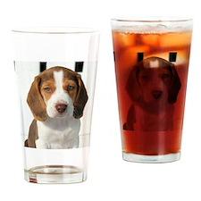 Unique Beagle Drinking Glass