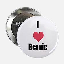"I Love (Heart) Bernie 2.25"" Button"