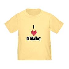 I Love (Heart) O'Malley T
