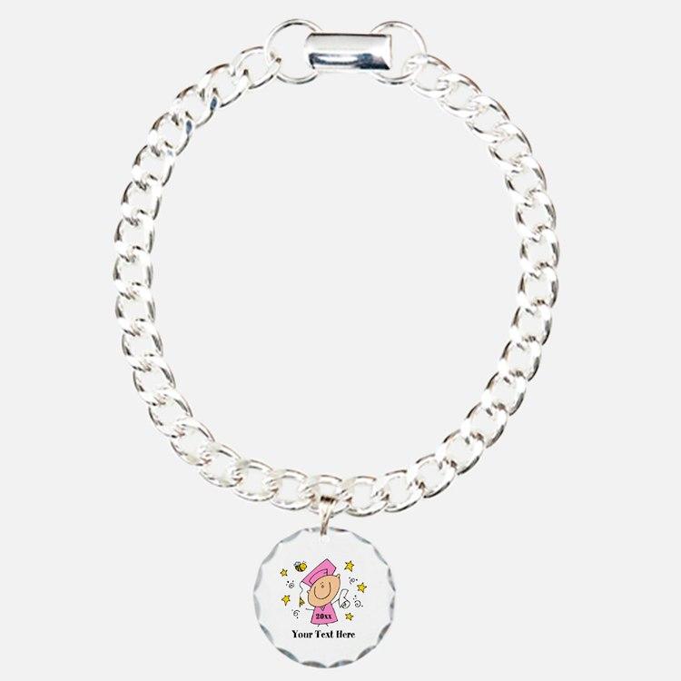 Cute Girl Graduate Bracelet