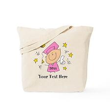 Cute Girl Graduate Tote Bag