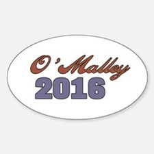 O'Malley 2016 Decal