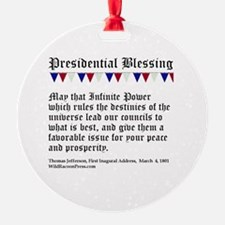 Presidential Blessing Ornament