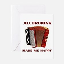 ACCORDIAN Greeting Cards (Pk of 10)