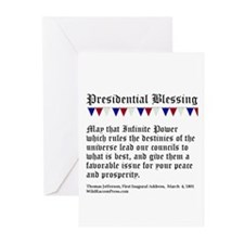 Presidential Blessing Greeting Cards