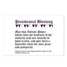 Presidential Blessing Postcards (Package of 8)