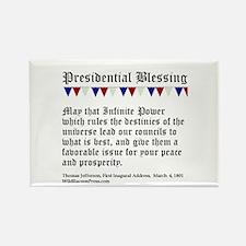 Presidential Blessing Magnets